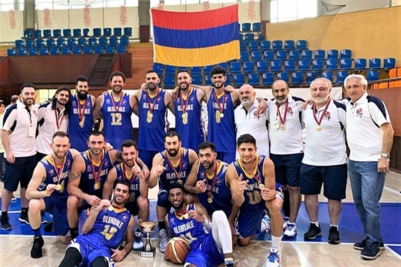 Scenes from the Homenetmen Glendale Ararat Chapter's participation in the 2019 Pan-Armenian Games