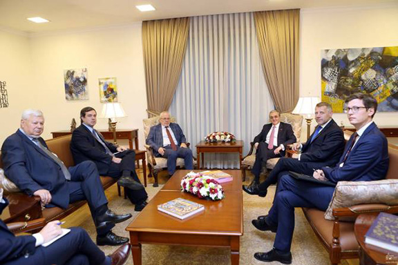 OSCE Minsk Group co-chairs discuss Karabakh conflict with Armenia's Foreign Minister Zohrab Mnatsakanyan