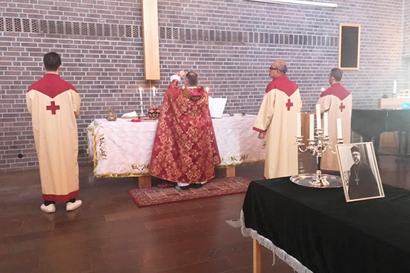 Armenian sacraments at a Swedish church