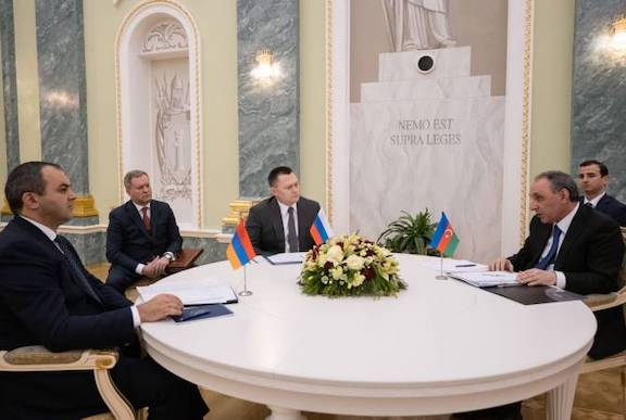Prosecutors General of Armenia, Azerbaijan and Russia meet on Jan. 12