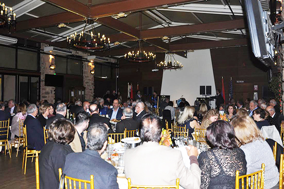 Friends and supporters of ACF came together for a Thanksgiving dinner celebrating Asbarez