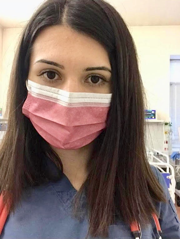 An AEF sponsored student from Yerevan State Medical University