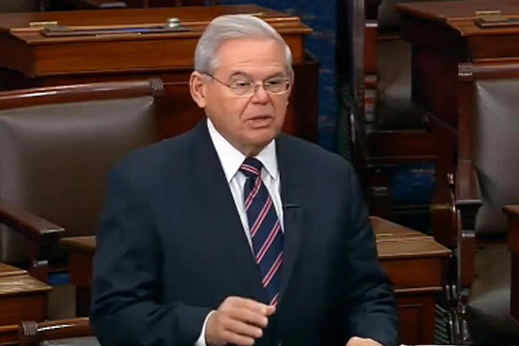 Sen. Robert Menendez (D-NJ), for the third time in a month, calls for unanimous consent vote on the Armenian Genocide Resolution (S.Res.150).  It was blocked by Sen. Kevin Cramer of North Dakota