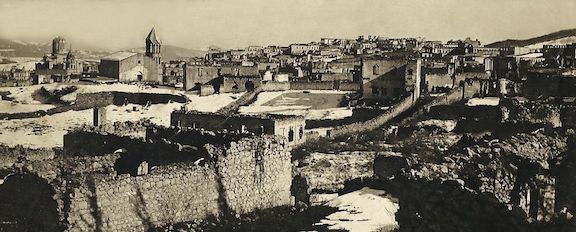 Shushi became an inferno on March 23, 1920 after Azerbaijani forces burned nearly 2,000 buildings