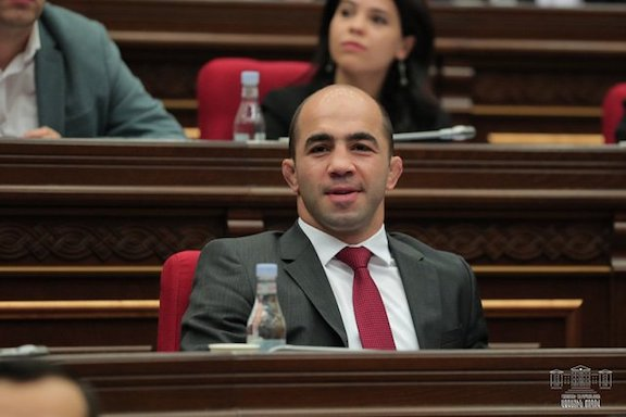 Arsen Julfalakyan, a member of the ruling My Step faction, resigned from parliament