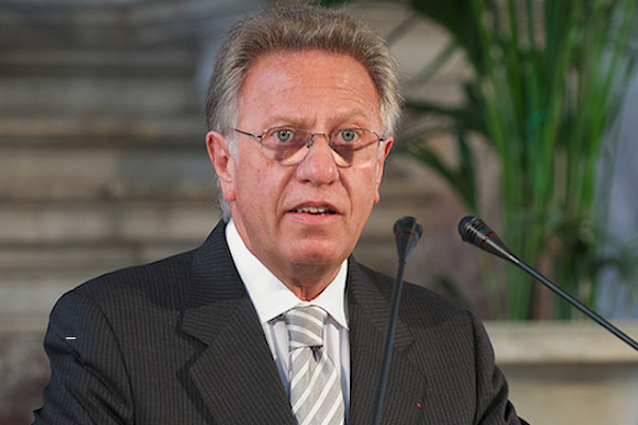 Gianni Buquicchio is the chairman of the Venice Commission, the Council of Europe's advisory body on legal affairs
