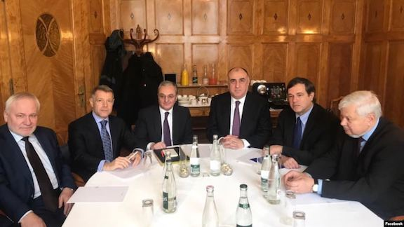 OSCE Minsk Group Co-chairs meet with Armenian and Azerbaijani foreign ministers in Geneva in January 2020