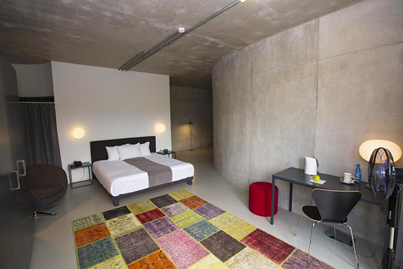 Concept hotel room