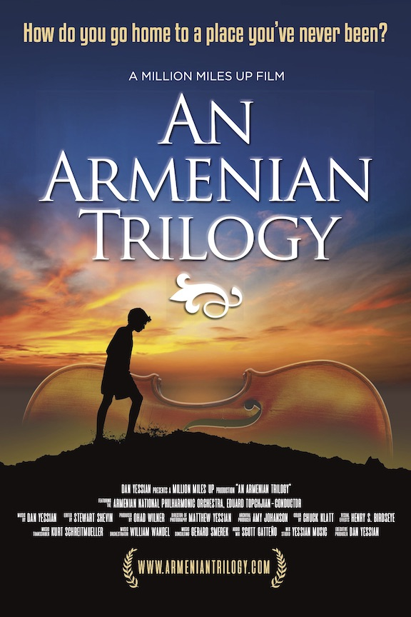 """The poster for the """"An Armenian Trilogy"""" film"""