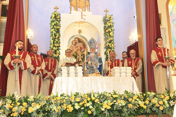 Scenes from Holy Martyrs Church's 56th Anniversary and Name Day celebrations