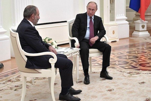 Russian President Vladimir Putin held a telephone conversation with Prime Minister Nikol Pashinyan on Oct. 5
