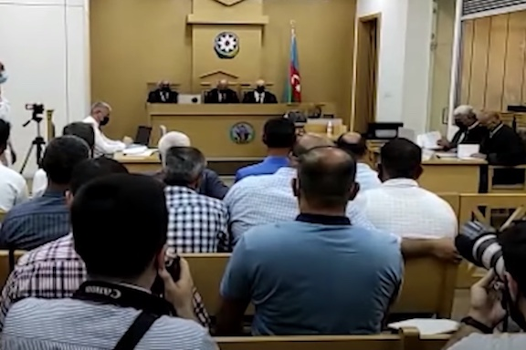 Hearings are being held in Azerbaijani courts against Armenian POWs