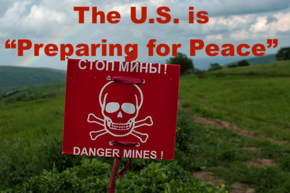 """The U.S. will defund Artsakh de-mining in favor """"preparing populations for peace."""""""